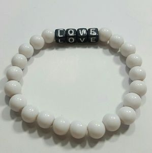 Jewelry - Beaded Love Bracelet - Say it with Love